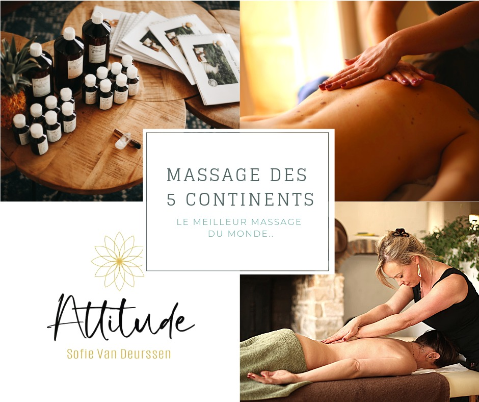 Massage des 5 continents sofie Van Deurssen Attitude